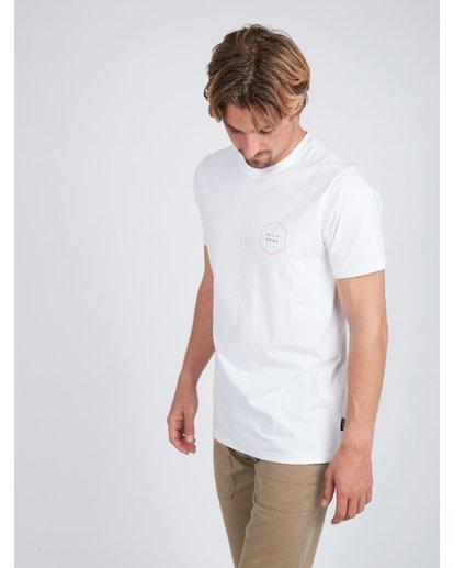 4 Access Back T-Shirt Weiss L1SS18BIF8 Billabong