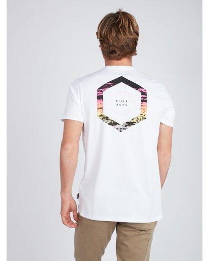 5 Access Back T-Shirt Weiss L1SS18BIF8 Billabong