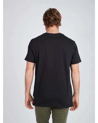 3 Team Wave T-Shirt Negro L1SS19BIF8 Billabong