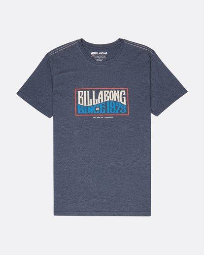 0 Wave Daze T-Shirt Blau L1SS20BIF8 Billabong