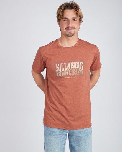 3 Wave Daze T-Shirt Grün L1SS20BIF8 Billabong