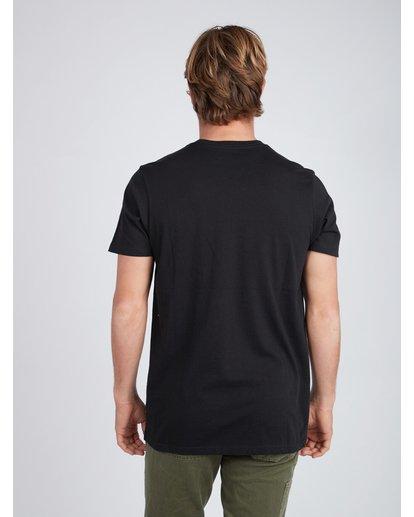 4 Pacific T-Shirt Schwarz L1SS21BIF8 Billabong