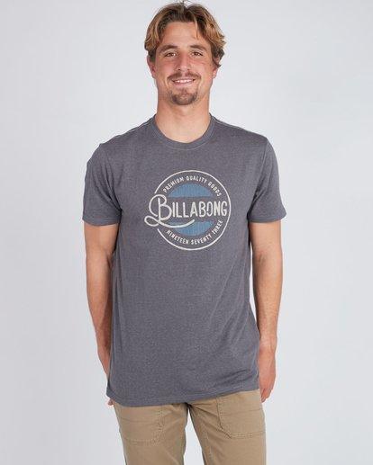 1 Plaza T-Shirt Noir L1SS22BIF8 Billabong
