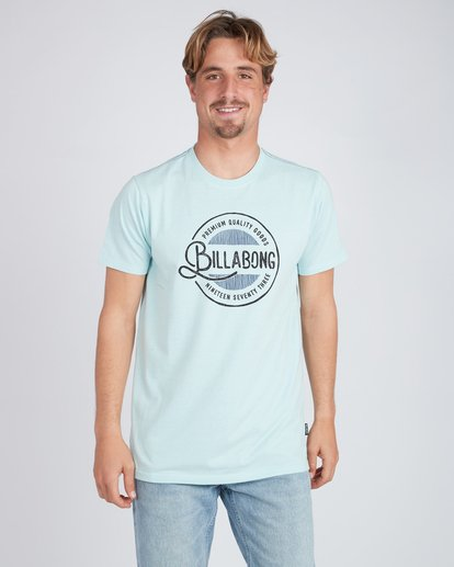 1 Plaza T-Shirt Blue L1SS22BIF8 Billabong