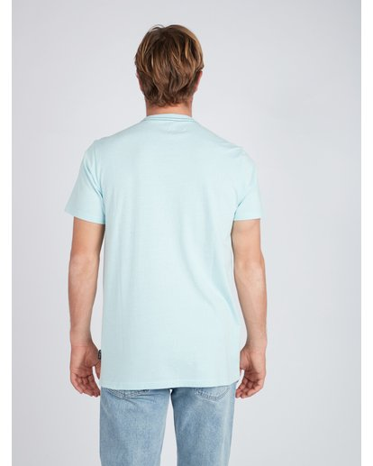 3 Plaza T-Shirt Blue L1SS22BIF8 Billabong