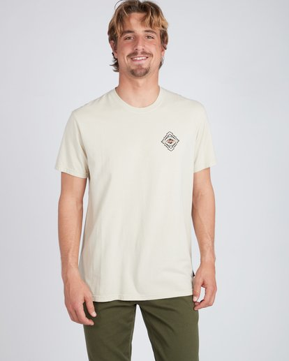 2 Mind Eyes T-Shirt Beige L1SS24BIF8 Billabong