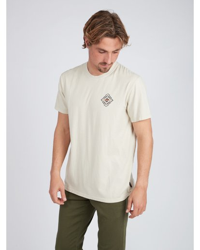 3 Mind Eyes T-Shirt Beige L1SS24BIF8 Billabong
