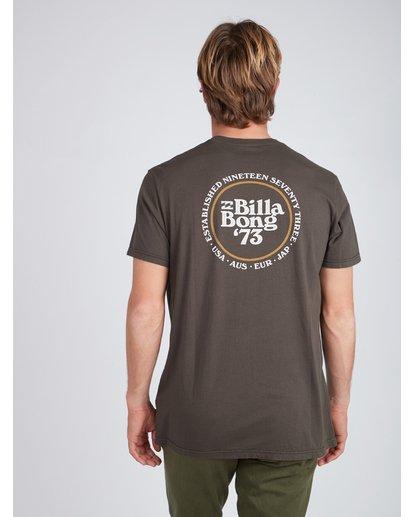 4 Cruiser T-Shirt Schwarz L1SS25BIF8 Billabong
