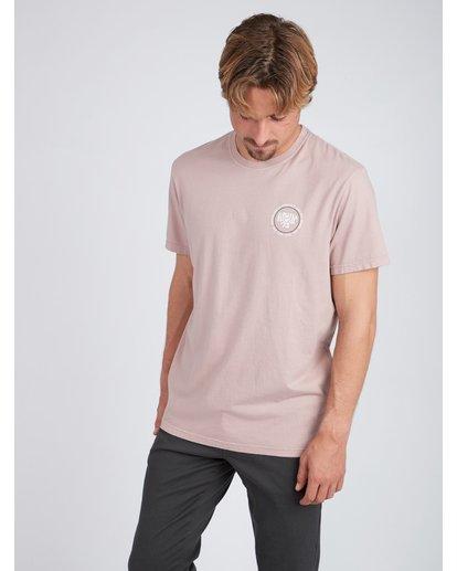 3 Cruiser T-Shirt Rosa L1SS25BIF8 Billabong