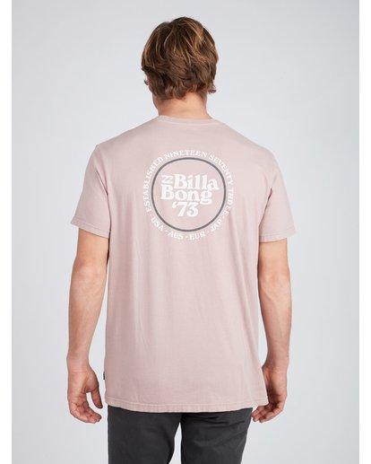 4 Cruiser T-Shirt Rosa L1SS25BIF8 Billabong