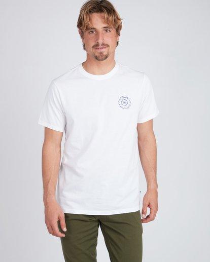 2 Barra T-Shirt Blanc L1SS29BIF8 Billabong