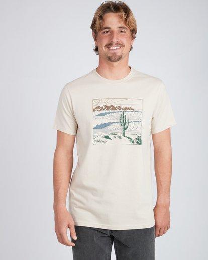 1 Deserted T-Shirt Beige L1SS30BIF8 Billabong