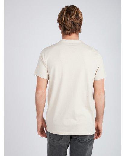 3 Deserted T-Shirt Beige L1SS30BIF8 Billabong