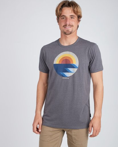 3 Rising T-Shirt Noir L1SS32BIF8 Billabong