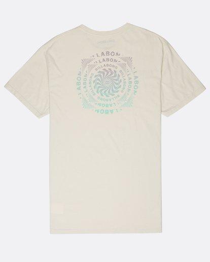 1 Psycadels T-Shirt Beige L1SS33BIF8 Billabong
