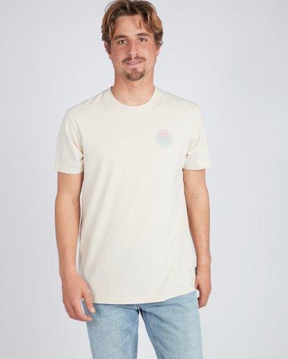 2 Psycadels T-Shirt Beige L1SS33BIF8 Billabong