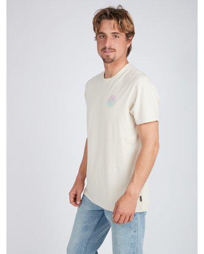 3 Psycadels T-Shirt Beige L1SS33BIF8 Billabong