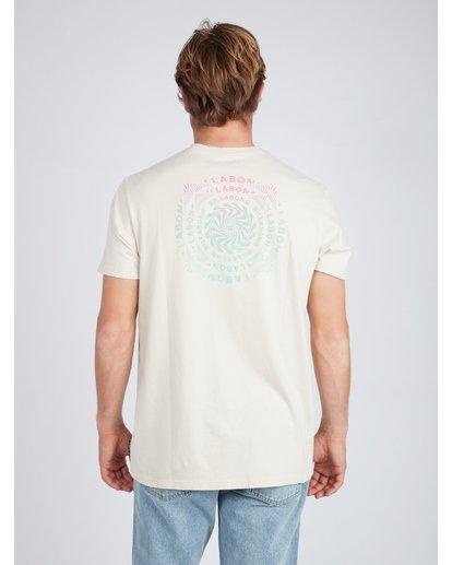 4 Psycadels T-Shirt Beige L1SS33BIF8 Billabong