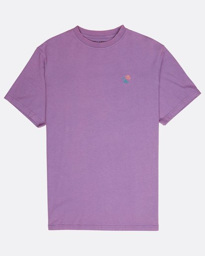 0 Quiet Riot T-Shirt Purple L1SS34BIF8 Billabong