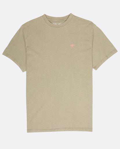0 Quiet Riot T-Shirt Camo L1SS34BIF8 Billabong