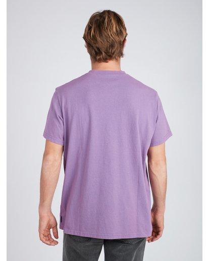 4 Quiet Riot T-Shirt Purple L1SS34BIF8 Billabong