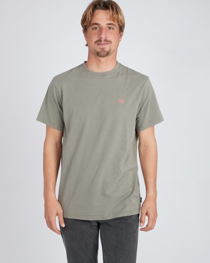 1 Quiet Riot T-Shirt Camo L1SS34BIF8 Billabong