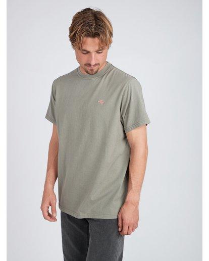 2 Quiet Riot T-Shirt Camo L1SS34BIF8 Billabong