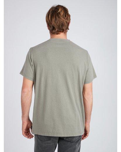 3 Quiet Riot T-Shirt Camo L1SS34BIF8 Billabong