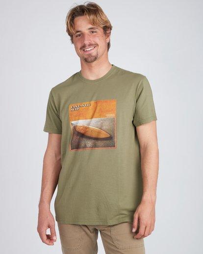 1 Flex Hull T-Shirt Camo L1SS35BIF8 Billabong