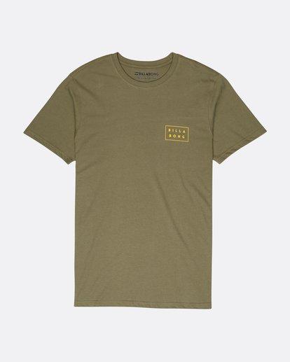 0 Die Cut Theme T-Shirt Camo L1SS39BIF8 Billabong