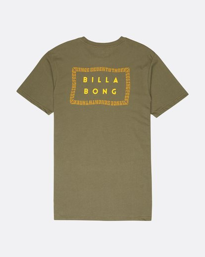 1 Die Cut Theme T-Shirt Camo L1SS39BIF8 Billabong