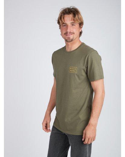 4 Die Cut Theme T-Shirt Camo L1SS39BIF8 Billabong