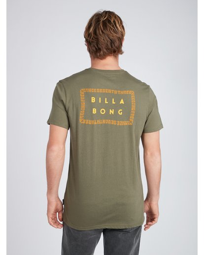 5 Die Cut Theme T-Shirt Camo L1SS39BIF8 Billabong