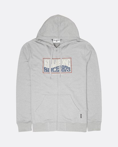 0 Wave Daze Zip Hoodie Gris L1ZH01BIF8 Billabong