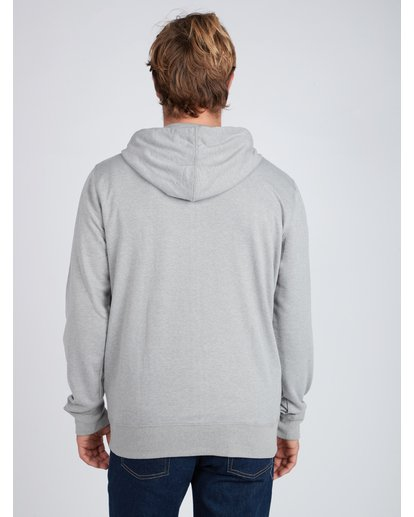 5 Wave Daze Zip Hoodie Gris L1ZH01BIF8 Billabong
