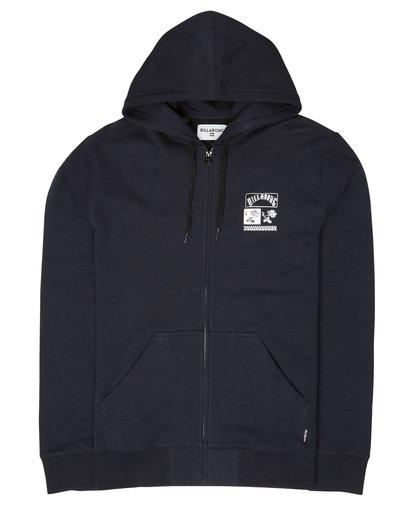 2 Mercado Zip Hoodie Noir L1ZH03BIF8 Billabong
