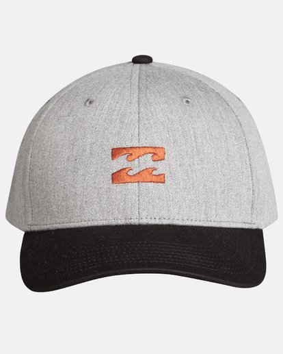 1 Boys Emblem Snapback Gris L2CM01BIF8 Billabong