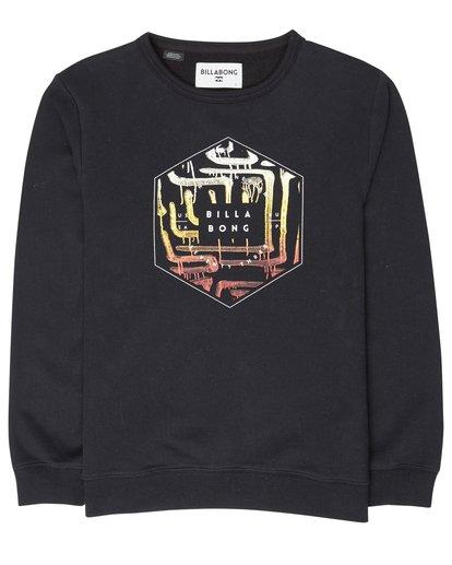 1 Boys Access Sweatshirt Noir L2CR02BIF8 Billabong