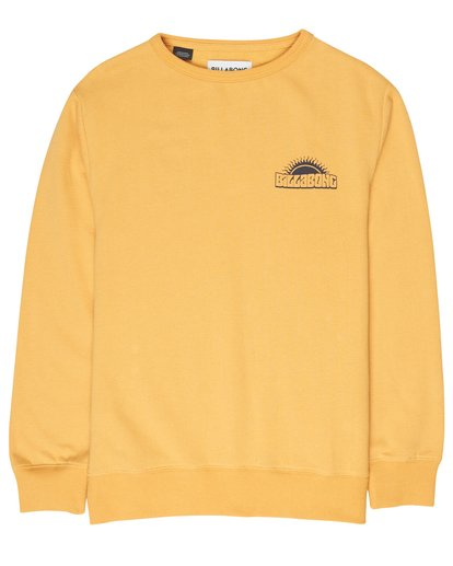 0 Boys Hippy Ride Sweatshirt Jaune L2CR03BIF8 Billabong