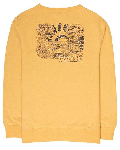 1 Boys Hippy Ride Sweatshirt Jaune L2CR03BIF8 Billabong