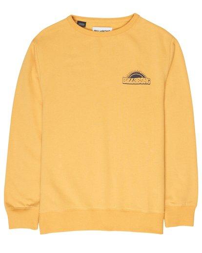 2 Boys Hippy Ride Sweatshirt Jaune L2CR03BIF8 Billabong