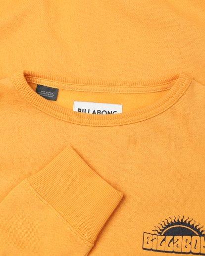 4 Boys Hippy Ride Sweatshirt Jaune L2CR03BIF8 Billabong