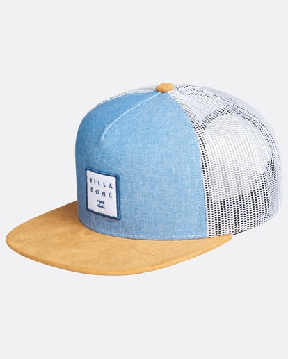 0 Boys Walled Trucker Cap Bleu L2CT02BIF8 Billabong
