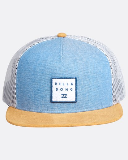 1 Boys Walled Trucker Cap Bleu L2CT02BIF8 Billabong