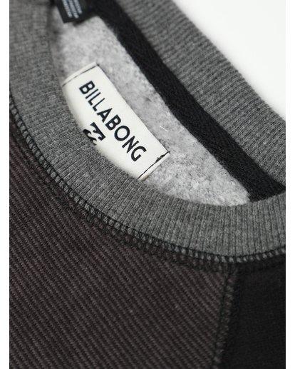 2 Boys All Day Crew Sweatshirt Noir L2FL02BIF8 Billabong
