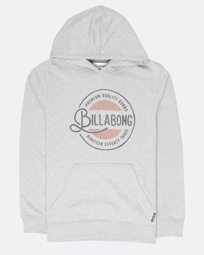0 Boys Plaza Sweatshirt Gris L2HO01BIF8 Billabong