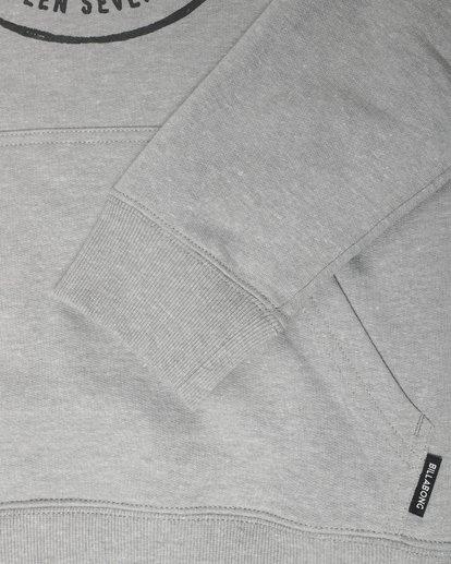 1 Boys Plaza Sweatshirt Gris L2HO01BIF8 Billabong