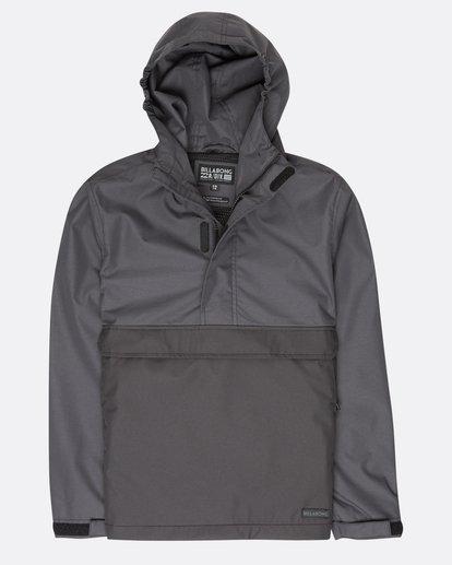 0 Boys Boundary Shell Jacket Noir L2JK04BIF8 Billabong