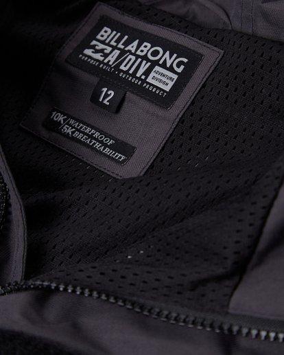 4 Boys Boundary Shell Jacket Noir L2JK04BIF8 Billabong