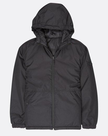 0 Boys Transport 10K Reversible Jacket Noir L2JK08BIF8 Billabong